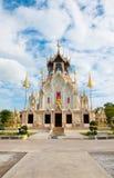 Boeddhistische kerk in de tempel Royalty-vrije Stock Foto