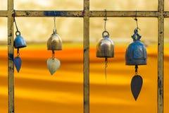 Boeddhistische klokken royalty-vrije stock fotografie