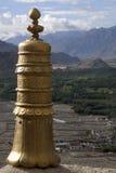 Boeddhistische mantras dat door de wind moet worden genomen Stock Fotografie