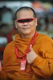 Boeddhistische Monnik Stock Afbeelding