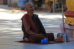 Boeddhistische Monnik Royalty-vrije Stock Foto