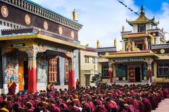 Boeddhistische monniken royalty-vrije stock foto