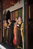 Boeddhistische monniken, China Royalty-vrije Stock Afbeeldingen