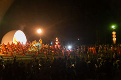 Boeddhistische monniksceremonie Royalty-vrije Stock Afbeelding
