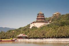 Boeddhistische pagode stock afbeeldingen