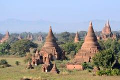 Boeddhistische Pagoden Stock Foto