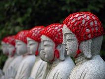 Boeddhistische standbeelden Stock Afbeelding