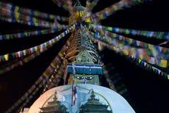 Boeddhistische stupa Stock Foto