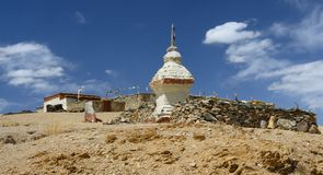 Boeddhistische Stupa Royalty-vrije Stock Afbeelding