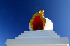 Boeddhistische Stupa Royalty-vrije Stock Fotografie