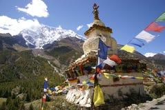 Boeddhistische stupa, Nepal Stock Afbeeldingen