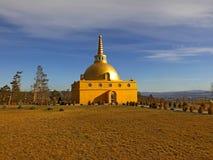 Boeddhistische stupa van Verzoening stock afbeelding