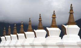 Boeddhistische stupas Stock Foto's