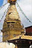 Boeddhistische Tempel & x28; Aap Temple& x29; Stock Afbeelding