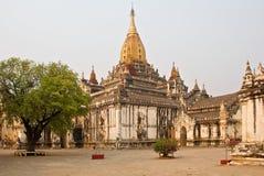 Boeddhistische tempel Ananda Royalty-vrije Stock Fotografie