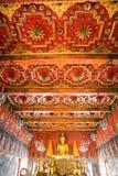 Boeddhistische Tempel in Ayuthaya, Thailand. Royalty-vrije Stock Fotografie