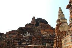 Boeddhistische tempel in Ayutthaya, Bangkok Thailand royalty-vrije stock fotografie