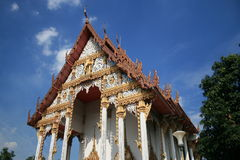 Boeddhistische tempel, Bangkok, Thailand. Stock Afbeeldingen