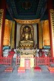 Boeddhistische tempel bij Tianmen-Berg royalty-vrije stock afbeelding