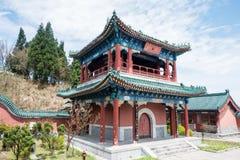 Boeddhistische tempel bij Tianmen-Berg Royalty-vrije Stock Fotografie