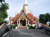 Boeddhistische tempel in het eiland Phuket van Thailand Stock Foto's