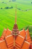Boeddhistische tempel in Kanchanaburi Stock Foto's