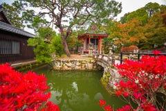 Boeddhistische tempel kiyomizu-Dera in Kyoto royalty-vrije stock foto's