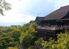 Boeddhistische tempel in Kyoto Royalty-vrije Stock Foto's