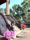 Boeddhistische tempel, Laos. Stock Fotografie