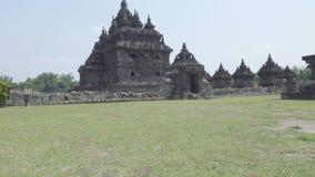 Boeddhistische tempel in Magelang, Centraal Java, Indonesië stock video
