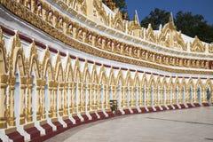 Boeddhistische Tempel Myanmar Stock Fotografie