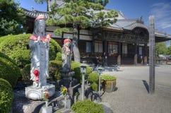 Boeddhistische tempel, Nagoya, Japan Stock Afbeeldingen