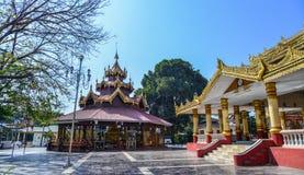 Boeddhistische tempel in Pyin Oo Lwin royalty-vrije stock afbeeldingen
