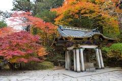 Boeddhistische tempel Rinno -rinno-ji in Nikko Royalty-vrije Stock Fotografie