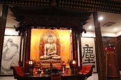 Boeddhistische tempel, Shanghai Groene architectuur, stock afbeeldingen