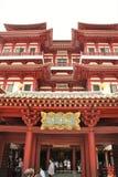 Boeddhistische tempel in Singapore Stock Foto's