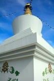 Boeddhistische tempel, Teer, Hongarije stock afbeelding