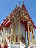 Boeddhistische tempel in Thailand Stock Afbeelding