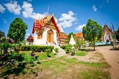 Boeddhistische tempel in Thailand Royalty-vrije Stock Foto's