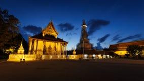 Boeddhistische tempel in Thailand Stock Foto