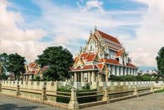 Boeddhistische tempel in Thailand stock foto's