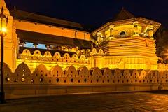 Boeddhistische Tempel van de Tand kandy Sri Lanka azi? royalty-vrije stock foto's