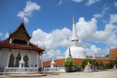 Boeddhistische Tempel ` Wat Mahathat ` Royalty-vrije Stock Foto