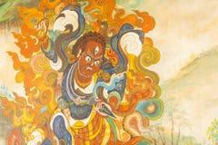 Boeddhistische Tempeldetails stock foto's