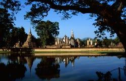 Boeddhistische tempelruïne Stock Afbeeldingen