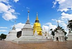Boeddhistische tempels in Thailand. Royalty-vrije Stock Foto's