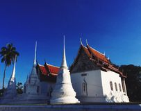 Boeddhistische tempels in Thailand Royalty-vrije Stock Afbeelding