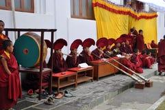 Boeddhistische viering Stock Foto's