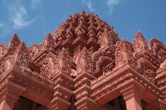Boeddhistische Wat Kambodja Stock Foto