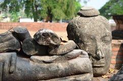 Boedha, Ayutthaya Royalty-vrije Stock Foto's